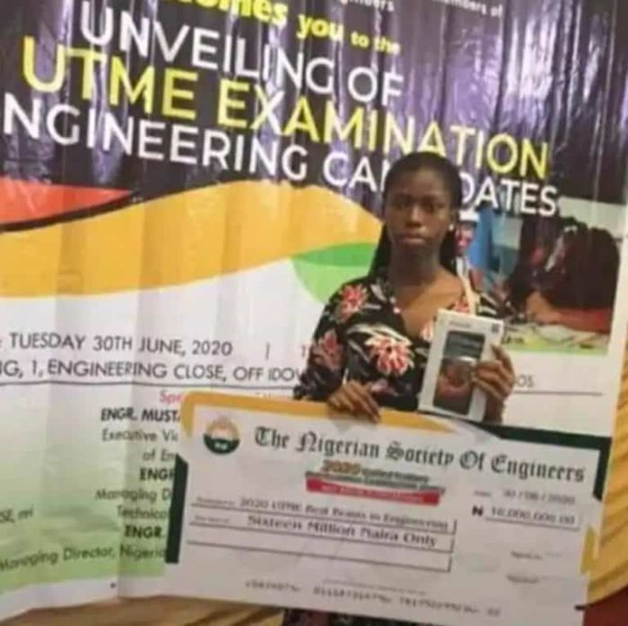 agnes - 16-year-old girl, others, get 16 million cash gift from NSE