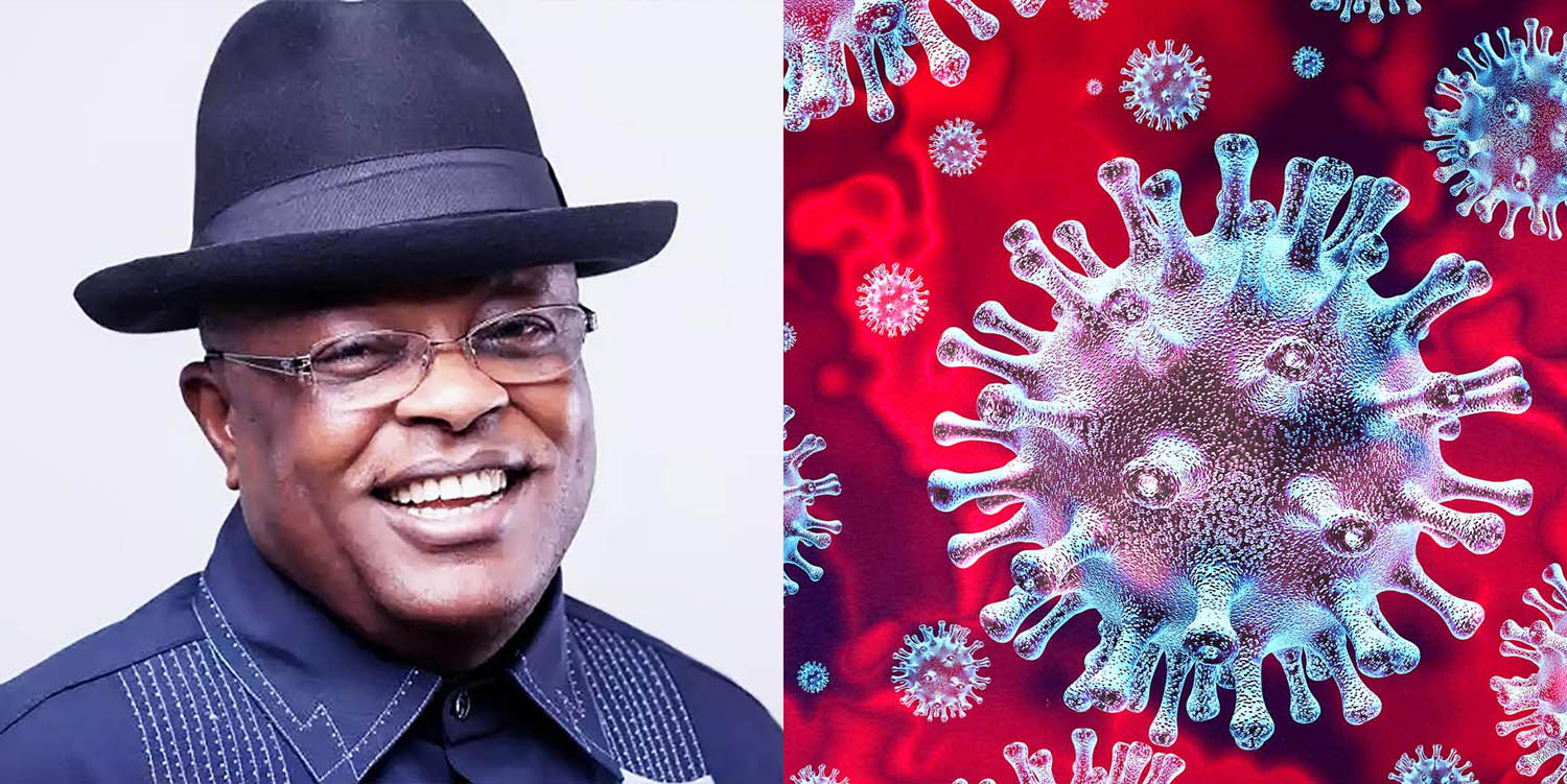 Governor of Ebonyi State, Dave Umahi, tests positive for Coronavirus