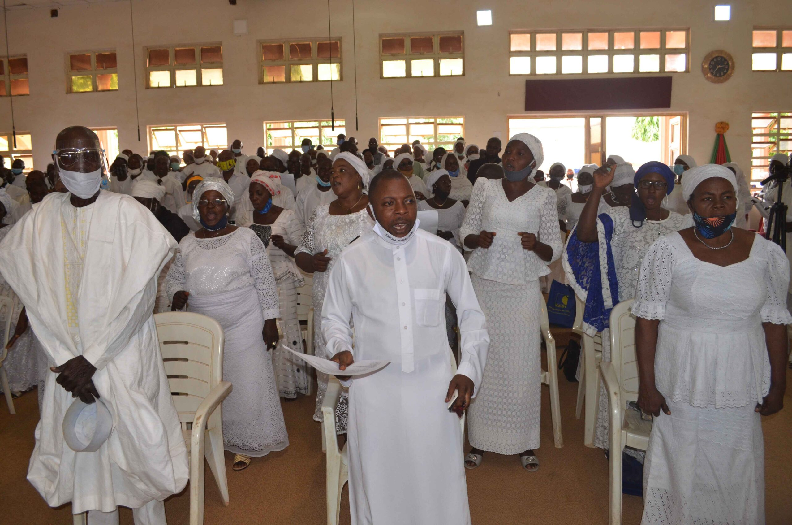 DSC 0319 5042d75c7bddab71aab0ce8ea18d8db4 scaled - Kaduna Killings: CAN President joins Protest, calls on Christians to rise and defend themselves