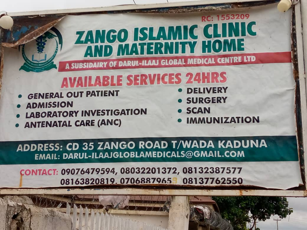 IMG 20200824 WA0049 dd46732c7e7a7af867a0973eec96a639 - Kaduna State Govt shuts down Islamic clinic operating without license