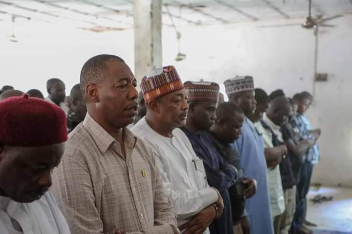 IMG 20200926 WA0027 2d98852526d665b83f39f6ec0c35ce75 - After narrowly escaping death, Gov. Zulum attends Jumma'at Prayer, pledges support to recover Boko Haram territories