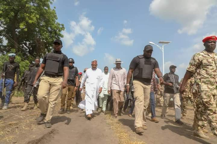 IMG 20200926 WA0031 f5f7c94444013975b927bdbd4144cb9c - After narrowly escaping death, Gov. Zulum attends Jumma'at Prayer, pledges support to recover Boko Haram territories