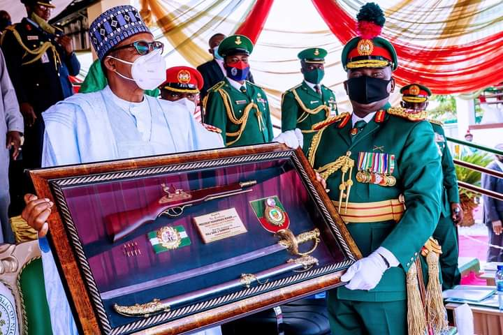 IMG 20201010 WA0029 3b29f088710e03164b45b671ac3e0516 - Buhari charges Passing Out Cadets to remain committed, calls for Citizens' support to end crisis