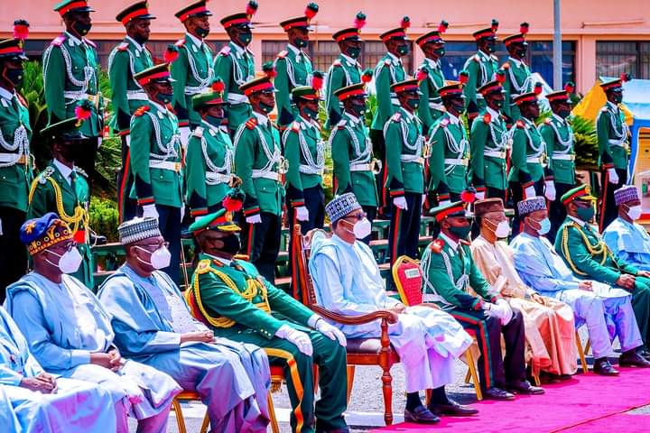 IMG 20201010 WA0030 e9d0dce7cead2122f550e67d45c8149e - Buhari charges Passing Out Cadets to remain committed, calls for Citizens' support to end crisis