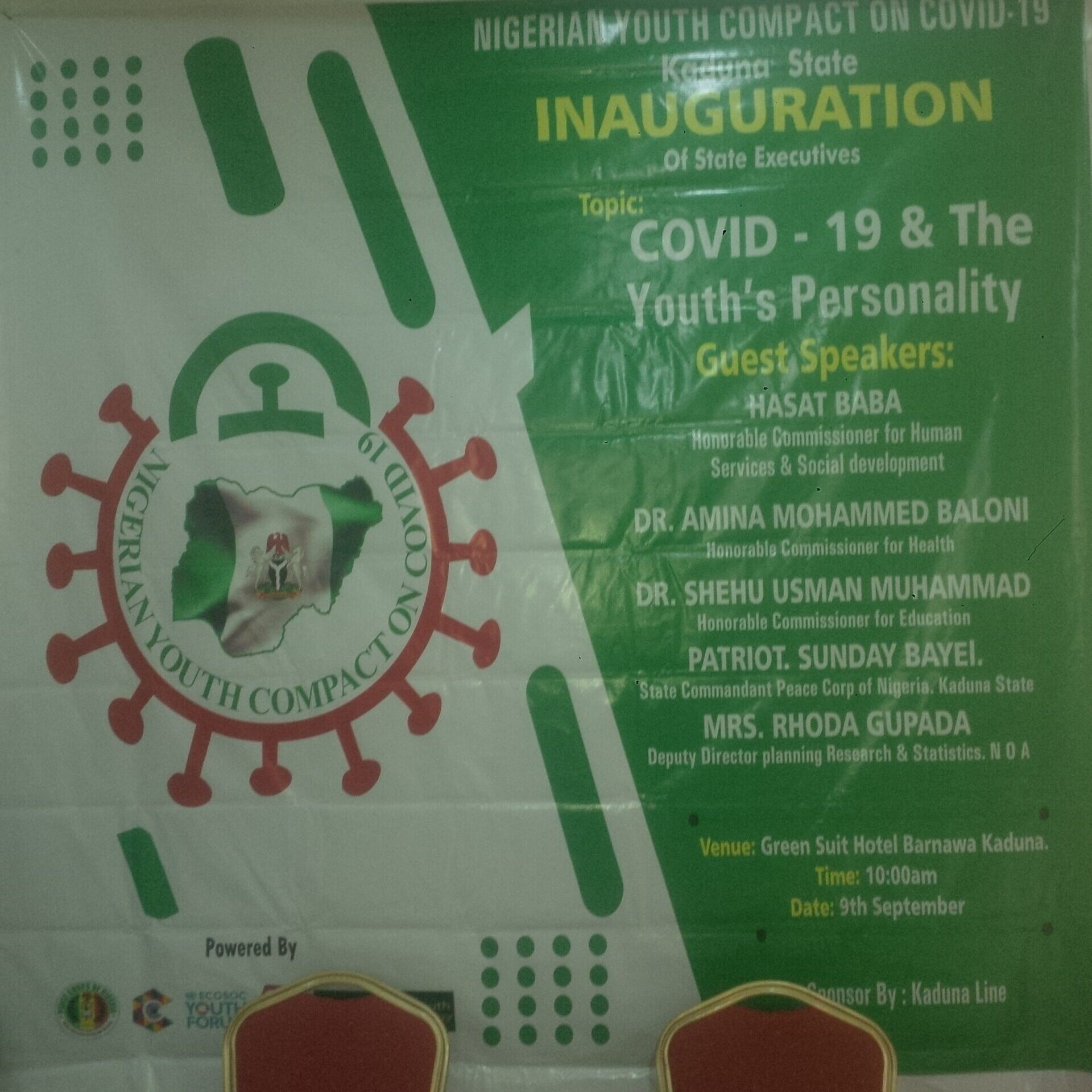 IMG 20200909 100342 0f9e14fd9f315d66f40d32db03574653 scaled e1599940196525 - COVID-19: Group inaugurates Chapter Executive in Kaduna, promises to impact 10 million youths