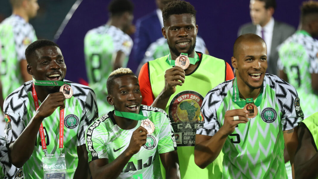 Super Eagles moves up two places in latest FIFA ranking