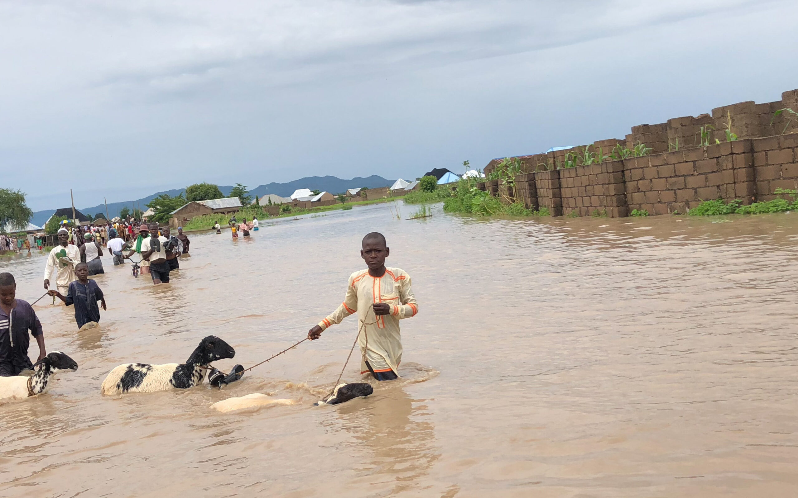 Kebbi State now like the Atlantic Ocean, Deputy Gov. laments during flood inspection