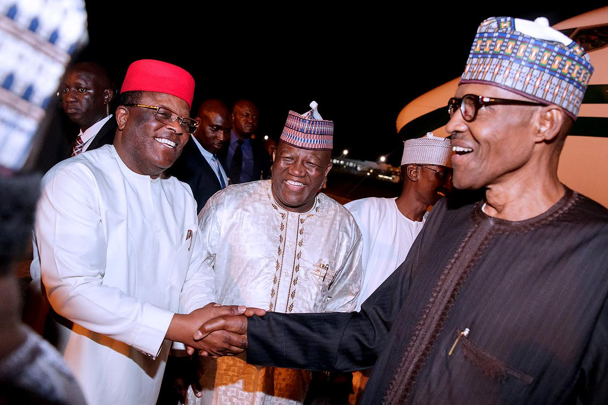 We told Mr. President that we cannot fund Community Policing, Umahi reveals